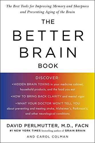 The Better Brain Book by Dr David Perlmutter