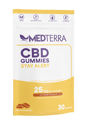 Medterra CBD Stay Alert Gummies