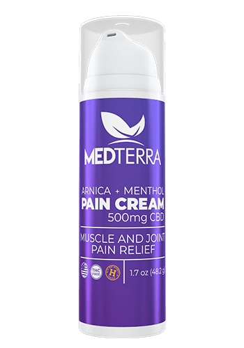 Medterra CBD Pain Cream 500mg